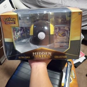 Pokemon Trading Cards Hidden Fates Ultraball Premium Collection Box for Sale in Lakewood, CA