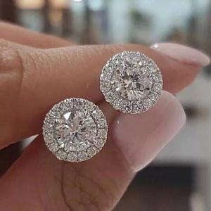 New 2.00 Carat sim. Diamond stud earrings for Sale in Saraland, AL