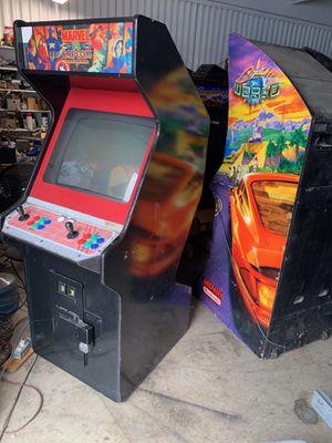 MARVEL VS CAPCOM ARCADE GAME in street fighter 2 Z back cabinet for Sale in Fullerton, CA