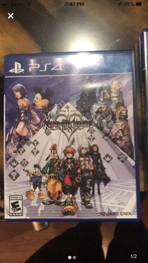 PS4 game Kingdom Hearts for Sale in McDonough, GA