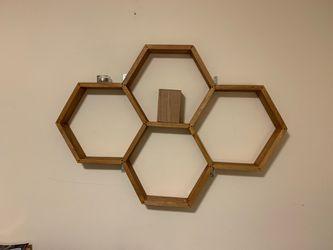Honey comb shelf for Sale in Seattle,  WA