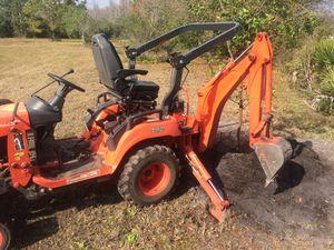 Kubota BX25D Tractor Loader Backhoe for Sale in Lutz, FL