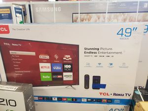 "49S305 49"" TCL ROKU TV for Sale in Hesperia, CA"