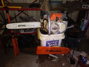 Stihl 041 farm boss new carb blade an bar for Sale in Cow Island, LA