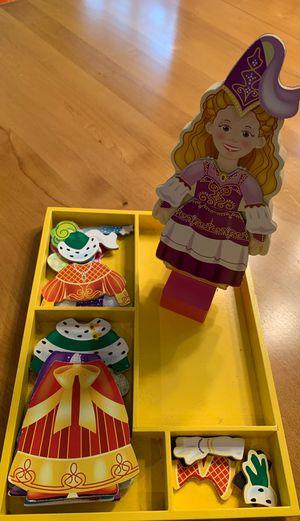 Melissa & Doug Wooden Doll Set for Sale in Hillsboro, OR