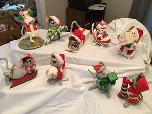 Anna Lee Christmas Mice for Sale in Marietta, GA
