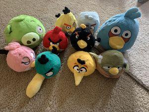 Angry Birds stuff animals for Sale in Woodbridge, VA