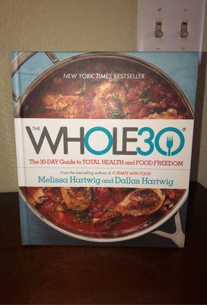 Whole 30 Cookbook for Sale in El Cajon, CA