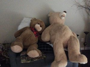 2 big teddy bears for Sale in Vancouver, WA