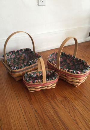 Longaberger Easter Baskets for Sale in Cincinnati, OH
