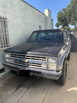 1981 Chevrolet Chevy K5 Blazer for Sale in Huntington Park, CA