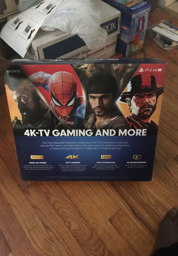 PS4 Pro Brand New Still In box Never Used 1TB