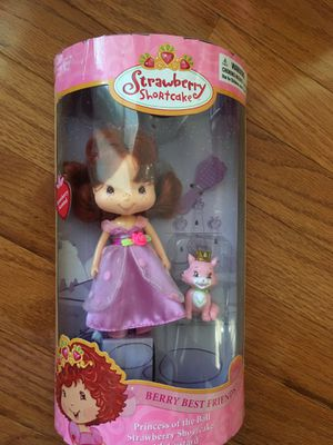 NEW Strawberry Shortcake Princess doll for Sale in Herndon, VA