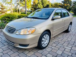 TOYOTA COROLLA LE 2004 CLEAN!! for Sale in Tampa, FL