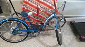 "1964 blue bike Schwinn 26"" beach cruiser fiesta bicycle Medium Women for Sale in Arlington, MA"