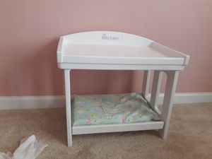 Bitty baby changing table for Sale in Fuquay-Varina, NC