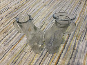 """Rare """"His and Her's"""" Antique Glass Urinals for Sale in Hollywood, FL"""