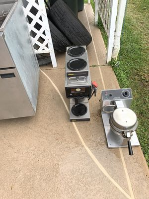 Coffee maker with no pots $75.00, waffle cone maker $75.00 for Sale in Lake Wales, FL