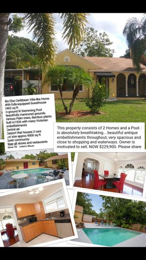House with Guest House and Pool for Sale in Winter Haven, FL