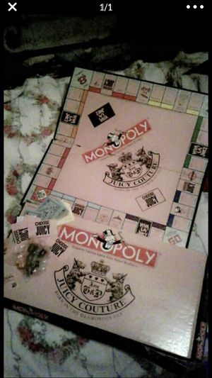 Juicy Couture Monopoly Board Game for Sale in Austin, TX