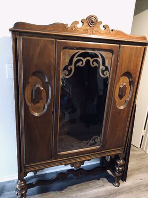 Antique cabinet for Sale in Huntington Beach, CA