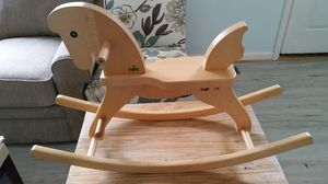 Wooden rocking horse for Sale in Frederick, MD