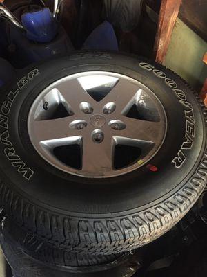 2017 Jeep Wrangler Tires for Sale in Montebello, CA