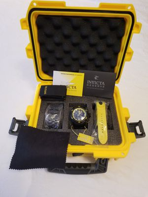 Invicta Venom Reserve Black Label Chronograph Watch for Sale in Las Vegas, NV