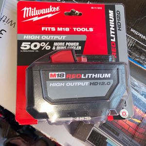 Milwaukee Battery New HD12 for Sale in Chicago, IL