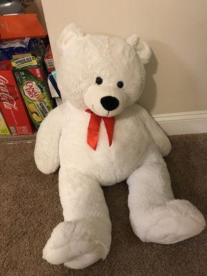 White teddy bear :) for Sale in Johnston, RI