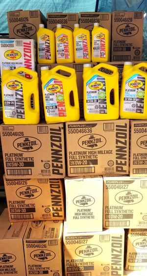 Pennzoil full synthetic for Sale in Montclair, CA