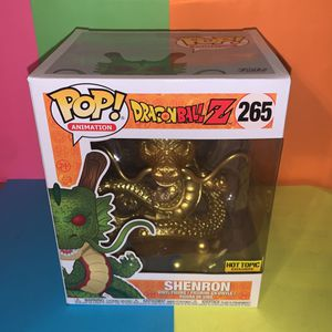 Dragonball-Z Shenron Funko Gold Hot Topic Exclusive for Sale in Sugar Land, TX
