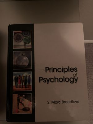 Principles of psychology book for Sale in Los Angeles, CA
