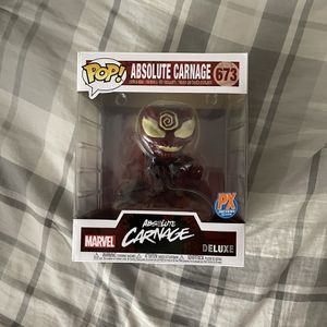 Absolute Carnage - Marvel Funko Pop - PX Previews Exclusive - Large Figure for Sale in Montgomery, AL