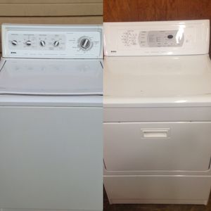 Matching Kenmore Elite Washer Dryer for Sale in Denver, CO