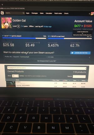 Steam account $1000 + value. Need gone for Sale in Southlake, TX