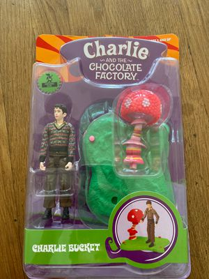 Charlie and the Chocolate Factory Charlie Bucket Collectable Figurine Toy with Base for Sale in San Diego, CA