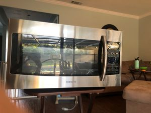 """Samsung SMH1816S 30"""" Over the Range Microwave - Stainless Steel for Sale in Dunedin, FL"""