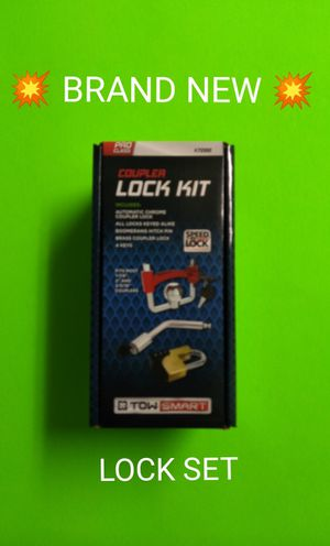 BRAND NEW TRAILER LOCK SET FOR SALE / SELLS FAST FOR $20 / LIMITED SUPPLY / 💥PRICE IS FIRM💥 for Sale in Phoenix, AZ