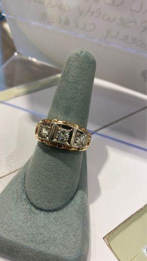 Men's 14 karat diamond ring for Sale in Cape Coral, FL