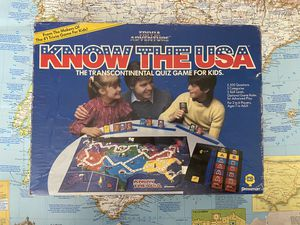 Trivia Adventure Know The USA Family Board Game for Sale in Chula Vista, CA