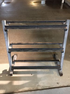 Dumbbell stand for Sale in Whittier, CA