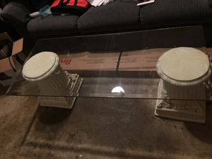 Glass coffee table for Sale in Sterling, VA