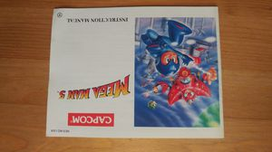 Nintendo Megaman 5 nes nintendo video manual instruction booklet for Sale in Tustin, CA