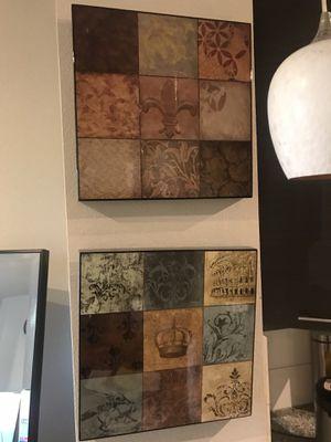 Wall Art, Canvas, Decor - make offer! for Sale in Dallas, TX