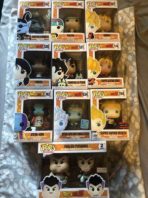 Dragon Ball Z Super Funko Pop Bundle for Sale in Kissimmee, FL