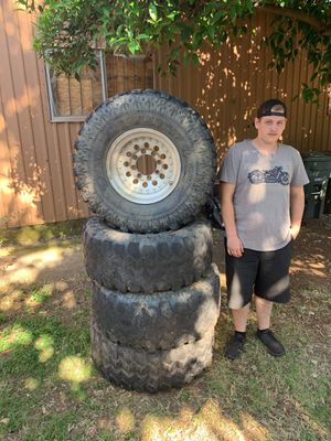 Tires and rims for Sale in Oroville, CA