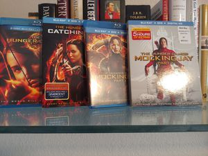 Hunger Games Complete Blu ray Set *Movies* for Sale in Phoenix, AZ