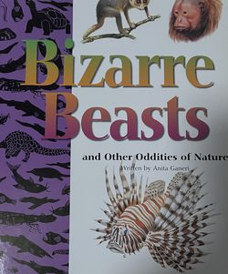 """Book """"Bizarre beasts"""" for Sale in Los Angeles,  CA"""