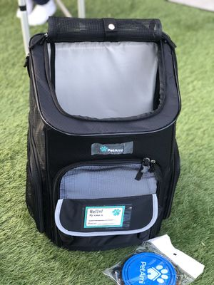 Pet carrier backpack for small pets for Sale in Norco, CA
